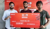 Daraz hands prize to the winners of 'Ad Creator Hunt-2020'