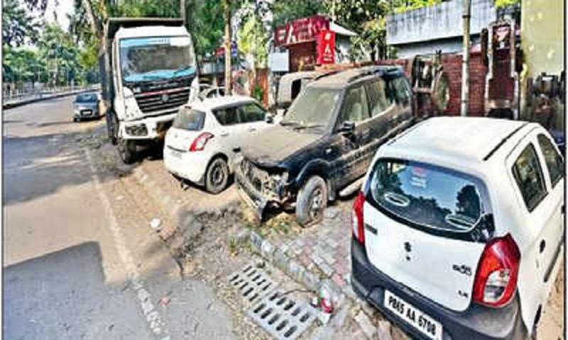 Police stations turn junkyards