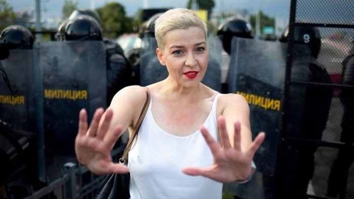 Belarus protests: Maria Kolesnikova charged under security law