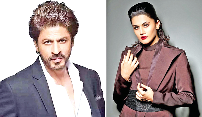 Taapsee to star opposite SRK in Hirani's next?