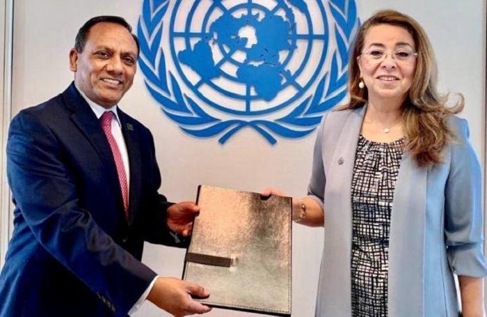 Bangladesh PR presents credentials to the UNOV executive director and UNODC director-general in Vienna
