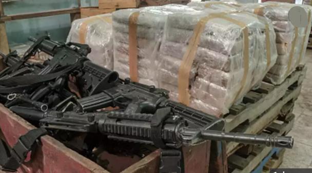 China's arms smuggling racket at Myanmar border