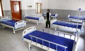 77pc corona beds lying vacant