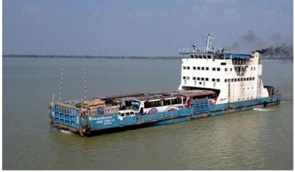 Experimental ferry operation begins at Shimulia-Kathalbari route