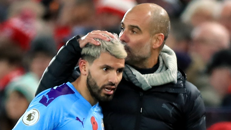 Manchester City: Sergio Aguero could be out for two months, says Pep Guardiola