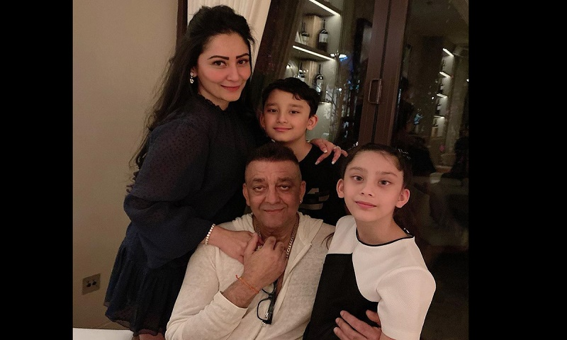 Sanjay Dutt reunites with kids in UAE after months