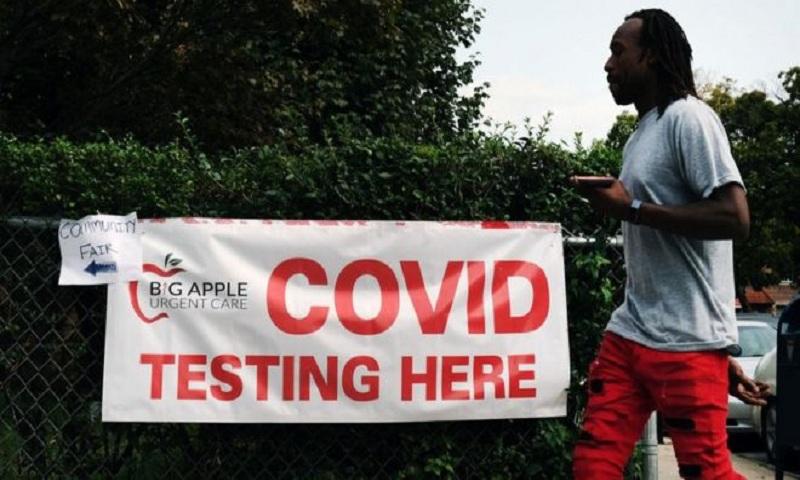 Coronavirus: US health chiefs reverse advice on Covid-19 testing