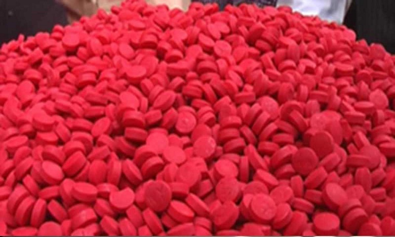 1.4 lakh Yaba pills recovered in Cox's Bazar