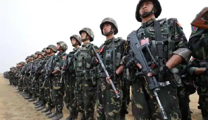 Is China losing faith in its own troops?