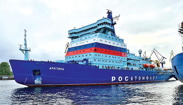 Nuclear icebreaker 'Arktika' sea trials completed