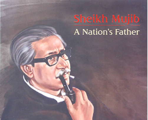 """PM unveils cover of book """"Sheikh Mujib: A Nation's Father"""""""
