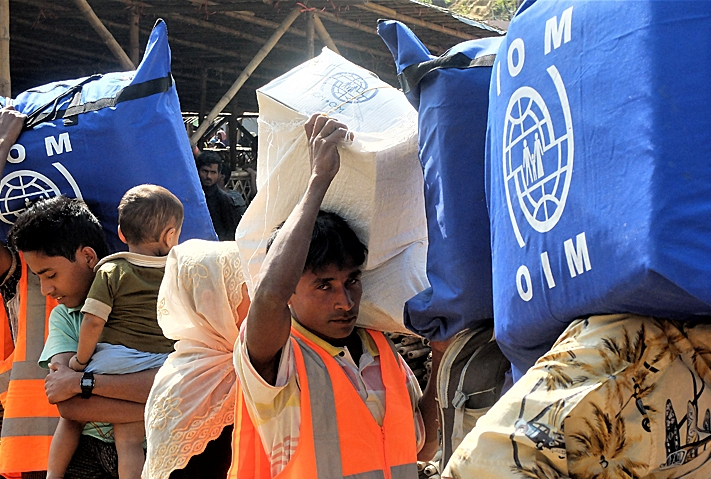 Korea works with IOM to address humanitarian challenges in Bangladesh