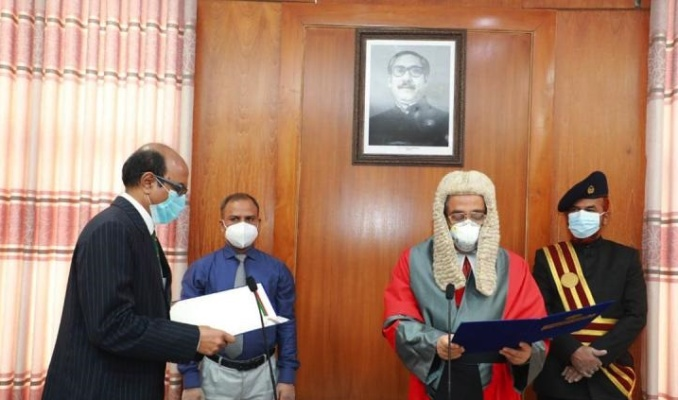 New PSC chair takes oath