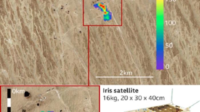 Satellite achieves sharp-eyed view of methane