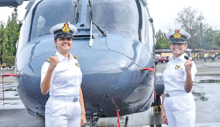 2 women officers to be posted on Indian navy warship