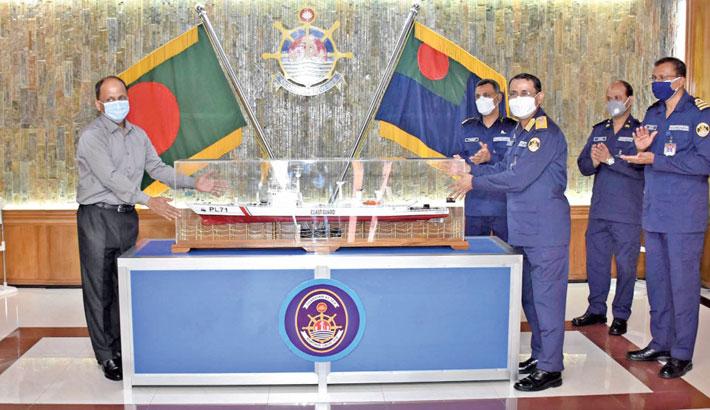 NMST gets replica of patrol ship