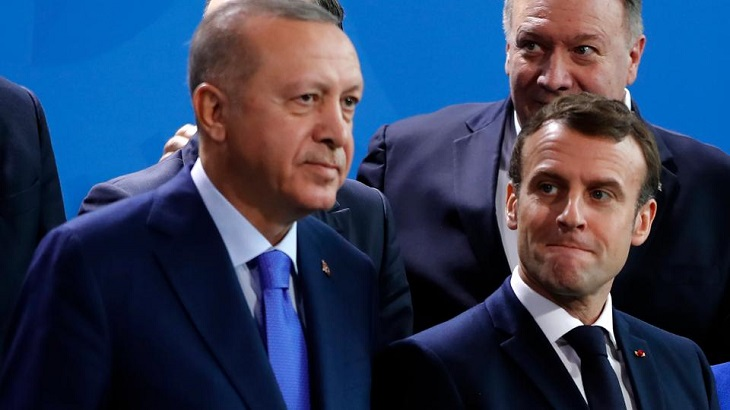 Macron to talk by phone with Erdogan on Med tensions: France