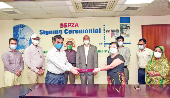 BEPZA signs $56.33m new investment deal during corona