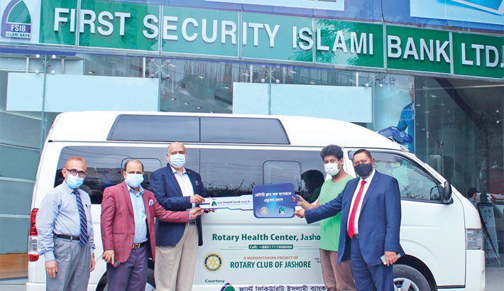 FSIBL donates ambulance to Rotary Health Centre