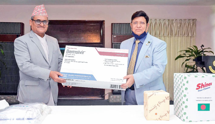 Bangladesh provides medical items for Nepal