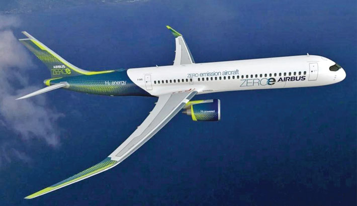 Airbus aims for hydrogen-powered plane by 2035