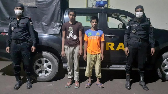 2 snatchers held in Dhaka