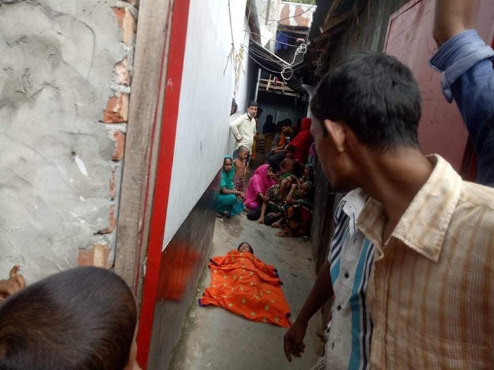 4-year-old girl dies in city slum