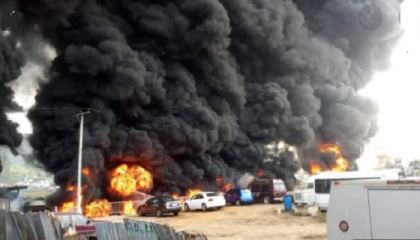 At least 23 killed after fuel tanker explosion in central Nigeria
