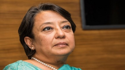 Riva Ganguly calls on home minister