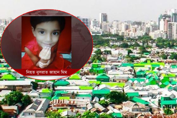 Brother held for 'killing 4-year-old sister' in city slum