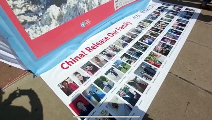 Photo exhibition on Uyghur Genocide held in front of UNHRC