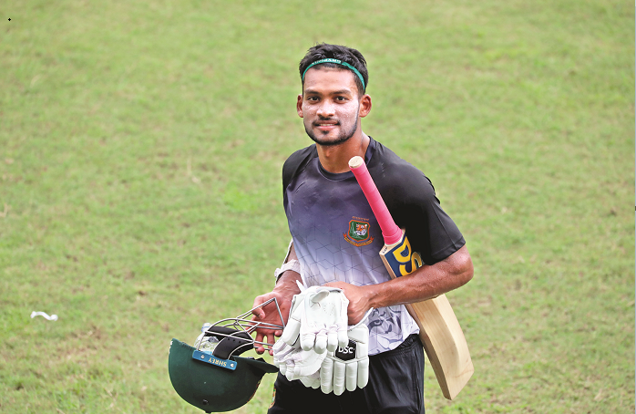 Shanto eying to cement his spot in nat'l team