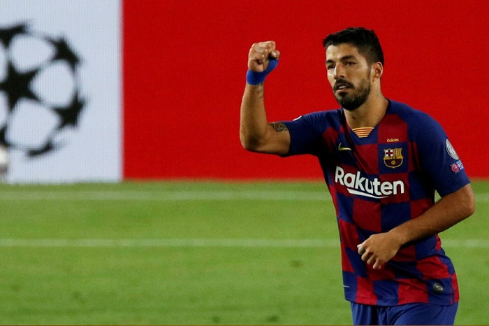 Atletico Madrid announce signing of Luis Suarez from Barcelona