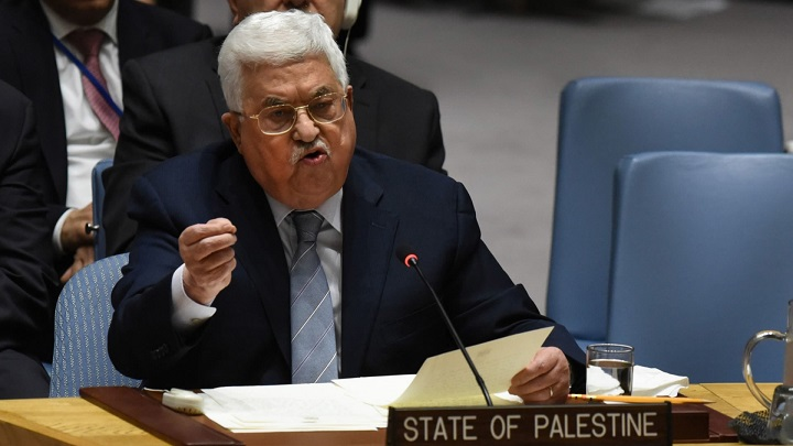 Abbas asks UN for international Mideast conference next year