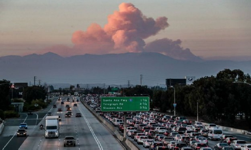 California wildfire trend 'driven by climate'