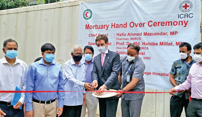 Holy family hospital opens mortuary