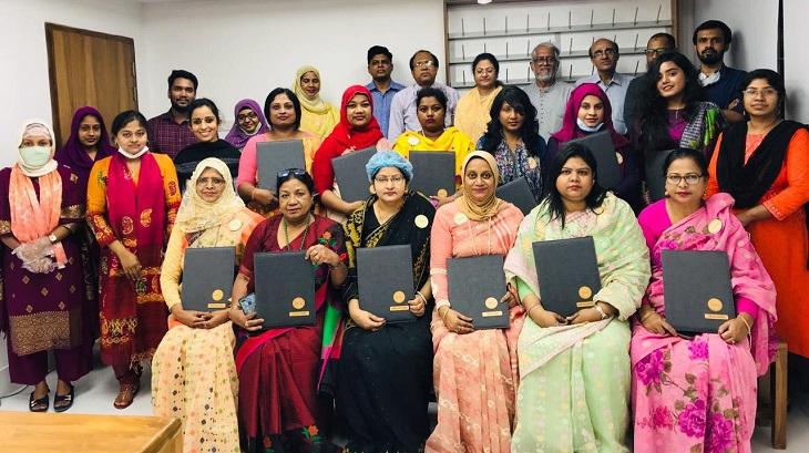 Joyeeta Foundation distributes certificates among women entrepreneurs