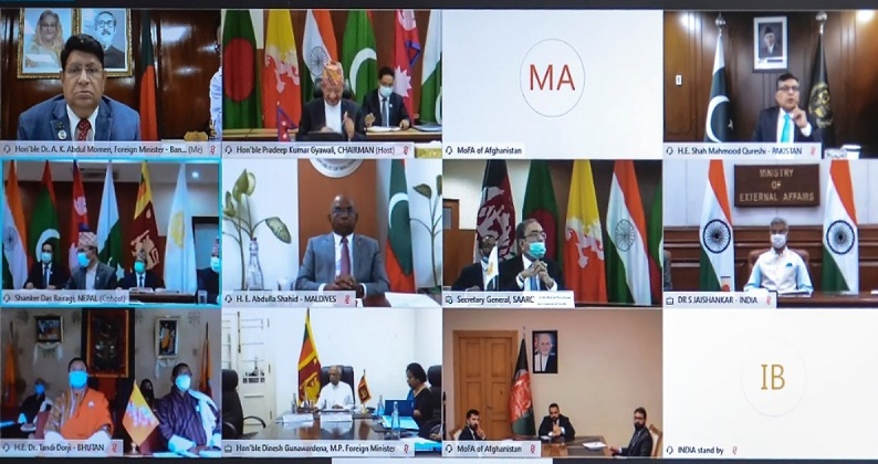 Bangladesh calls for exploiting SAARC cooperation to combat post COVID-19 challenges