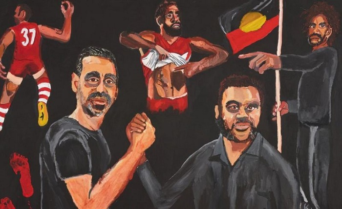 Archibald: Vincent Namatjira named art prize's first Aboriginal winner