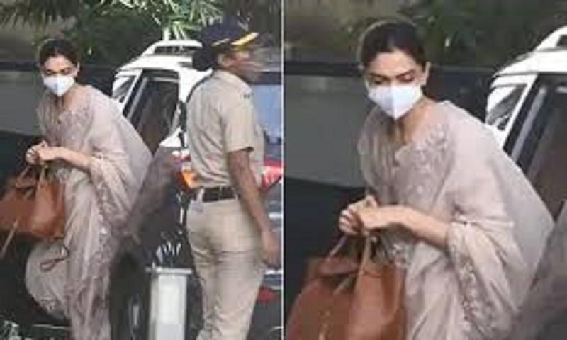 Deepika reaches NCB office to record statement in drugs case