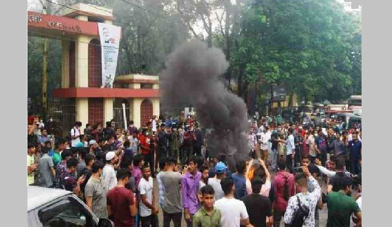 Protests erupt over gang rape of woman in Sylhet MC College