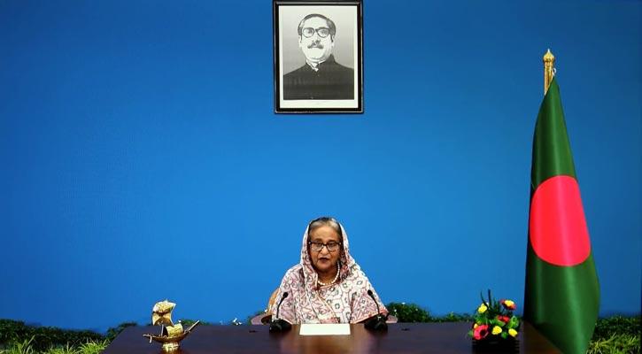 Prime Minister Sheikh Hasina addresses 75th UNGA
