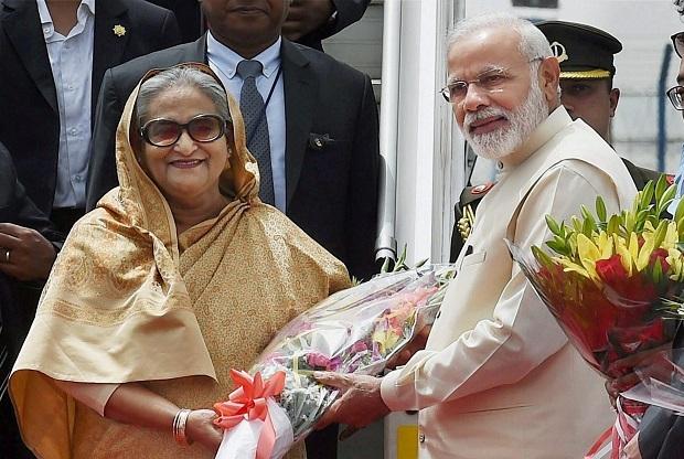 Modi sends birthday wishes to Hasina
