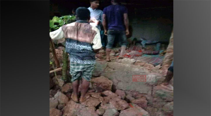 4 members of a family killed in Dinajpur mud-wall collapse