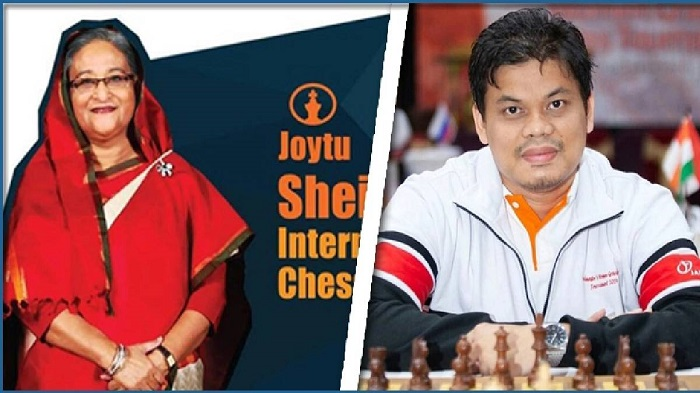 Prizes of Sheikh Hasina Int'l Online Chess distributed