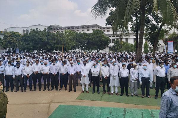 Mahbubey Alam's namaz-e-Janaza held at Supreme Court compound