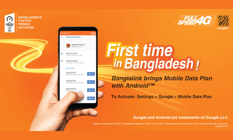 Banglalink introduces mobile data plan in Bangladesh
