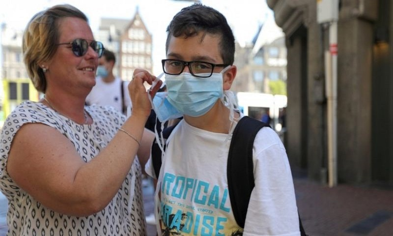 Coronavirus: Netherlands residents advised to wear face mask