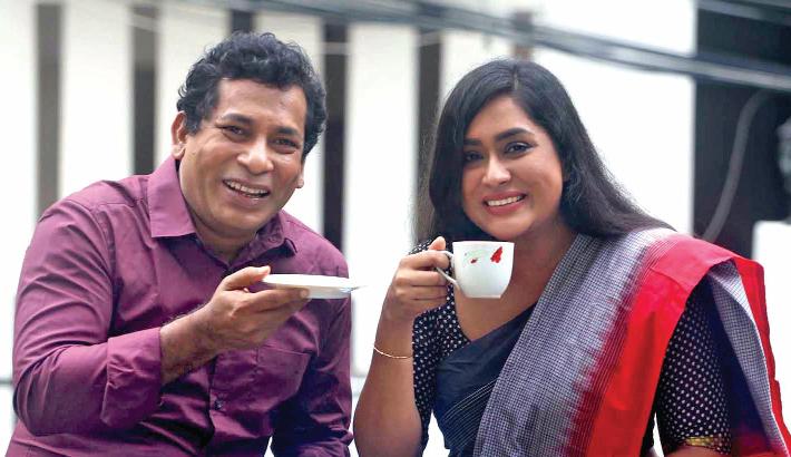 Mosharraf Karim, Mamo pair up for 'Mon Doroja'