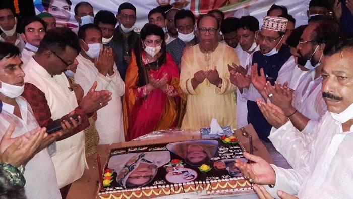 Cumilla-2 MP Selima Ahmad celebrates birthday of PM Sheikh Hasina
